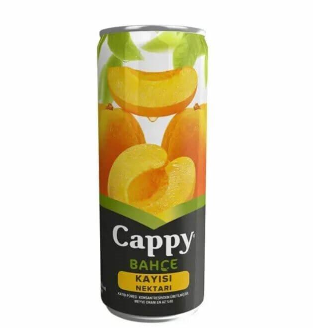 resm Cappy Meyve Suyu Kayısı Kutu 330 ml