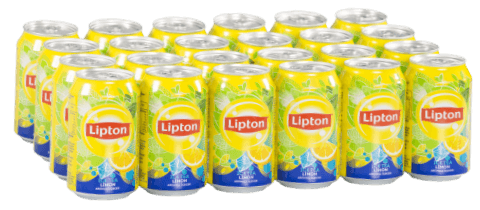 resm Lipton Ice Tea Limon Aromalı 24'lü 330 ml