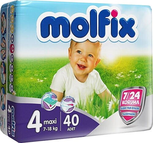 resm Molfix Jumbo Maxi (4) 7-18 Kg 40'lı