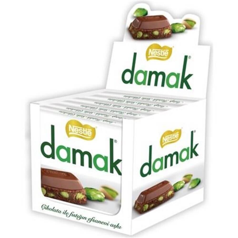 resm Nestle Damak Antep Fıstıklı Sütlü Çikolata 65 g
