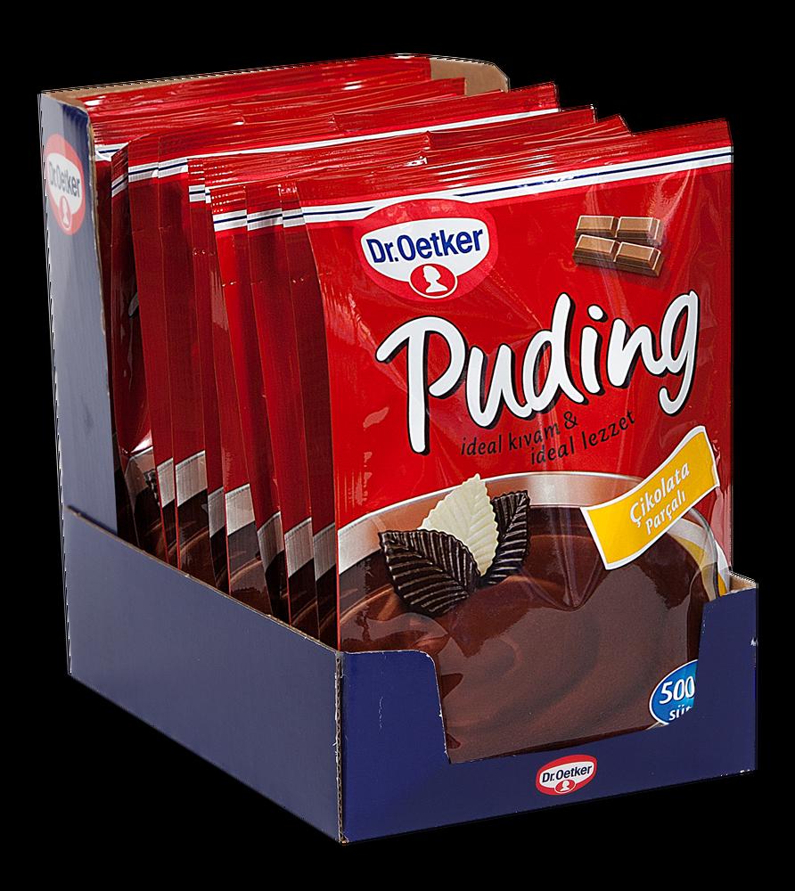 resm Dr.Oetker Çikolata Parçalı Puding 115 g