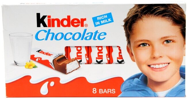 resm Kinder Chocolate Süt Kakao 100 g