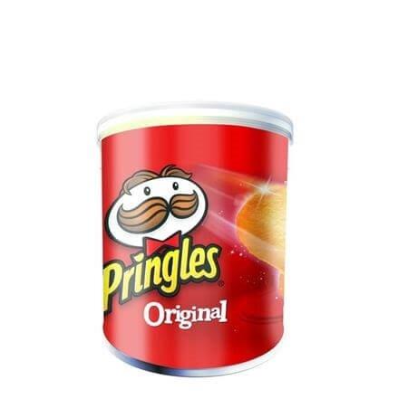 resm Pringles Cips Original 12'li 40 g