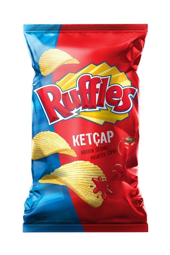 resm Ruffles Ketçap Çeşnili Aile Boyu Patates Cipsi 61 g