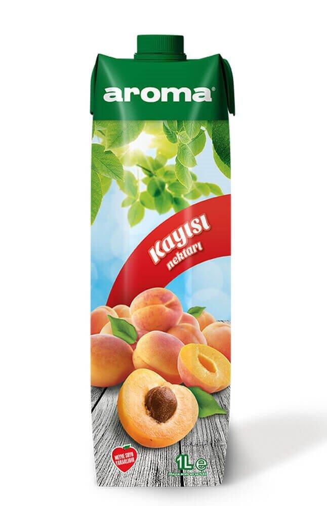 resm Aroma Meyve Nektarı Kayısı 1 l