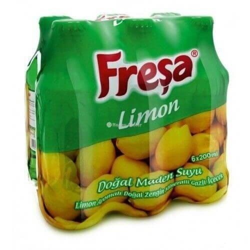 resm Freşa Soda Limon Aromalı 6'lı 200 ml