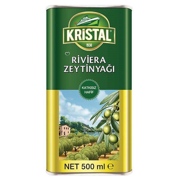 resm Kristal Teneke Riviera Zeytinyağı 500 ml