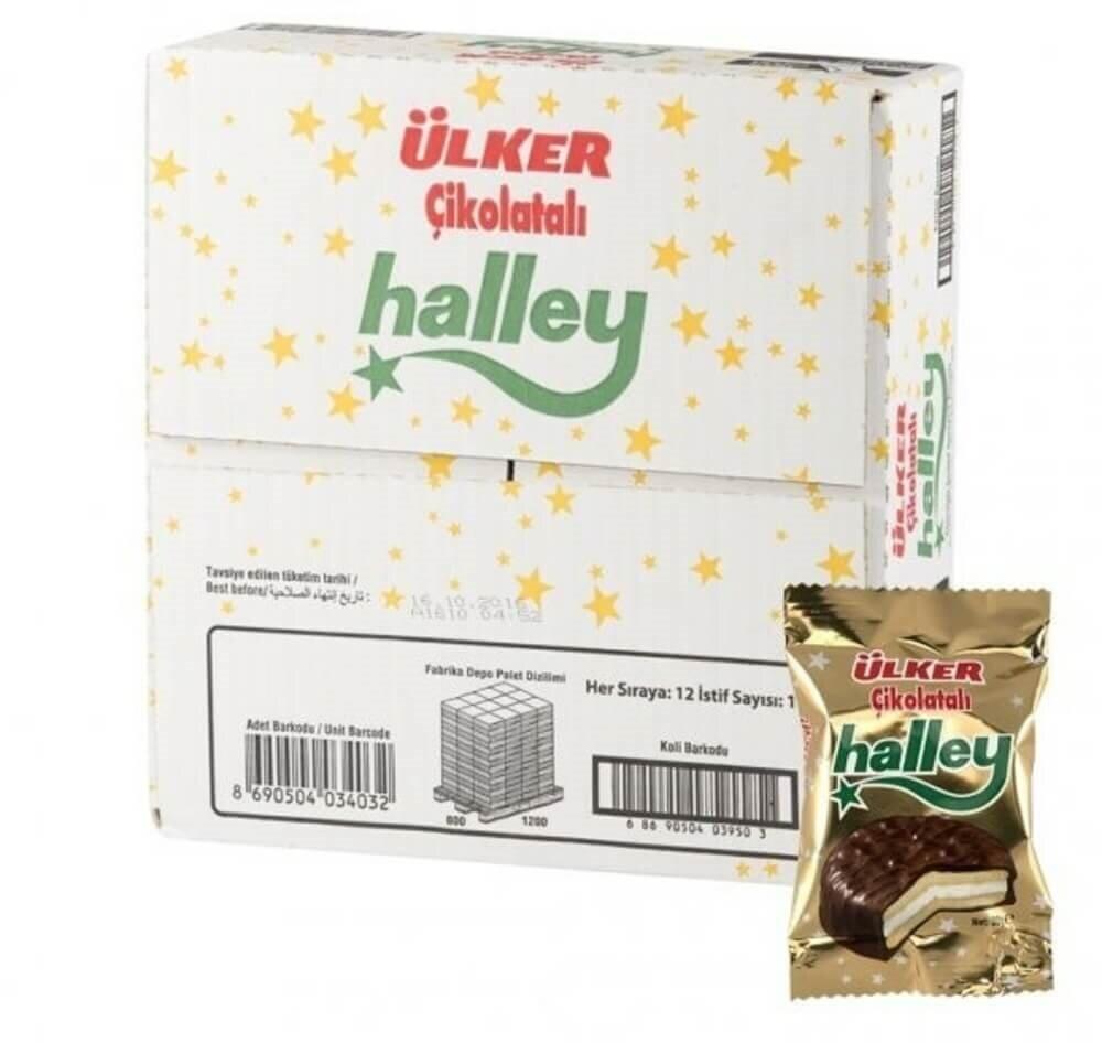 resm Ülker Halley Çikolatalı 24'lü 30 g