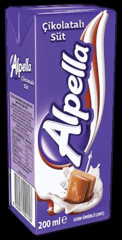 resm Alpella Çikolatalı Süt 27'li 180 ml