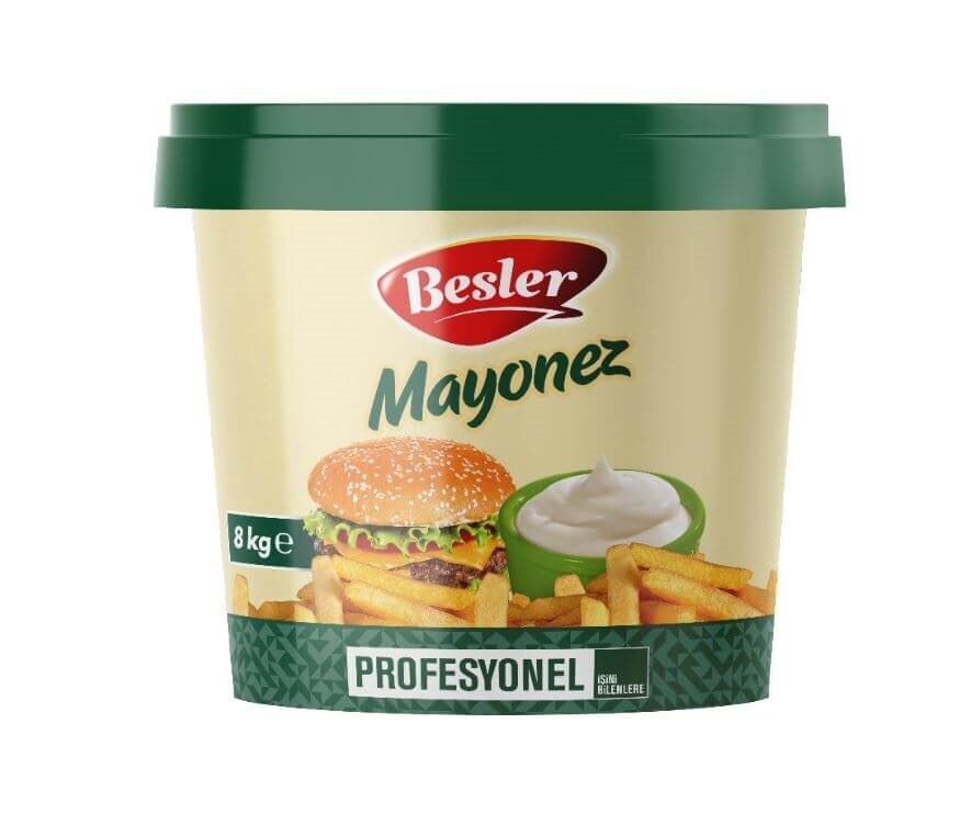 resm Besler Kova Mayonez 8 kg