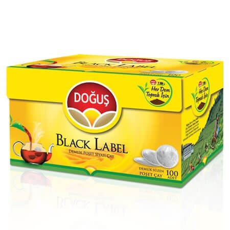 resm Doğuş Black Label Demlik Poşet Çay 100*3,2 g