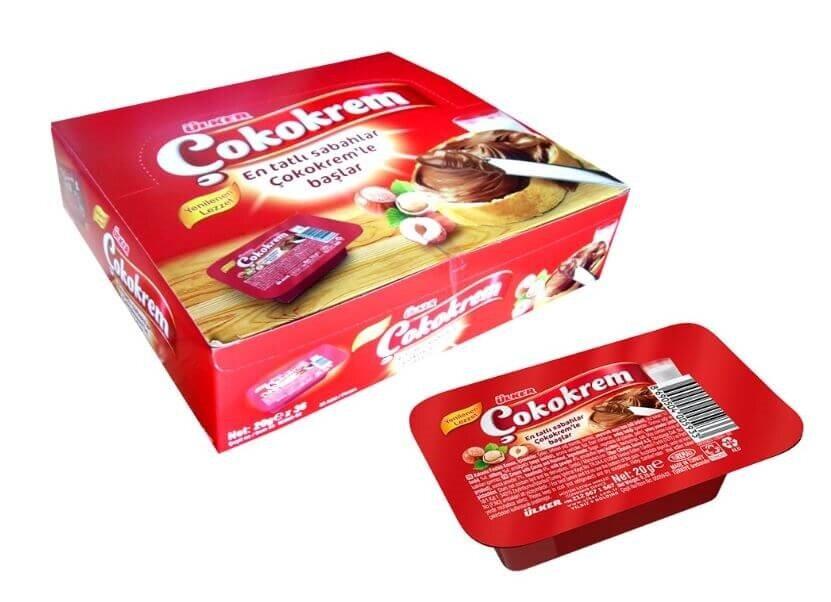 resm Ülker Çokokrem Kakaolu Fındık Kreması Kaşıklı 20 g
