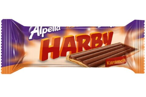 resm Alpella Harby Karamelli Bisküvi 24'lü 25 g
