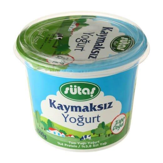 resm Sütaş Kaymaksız Yoğurt 1,5 kg