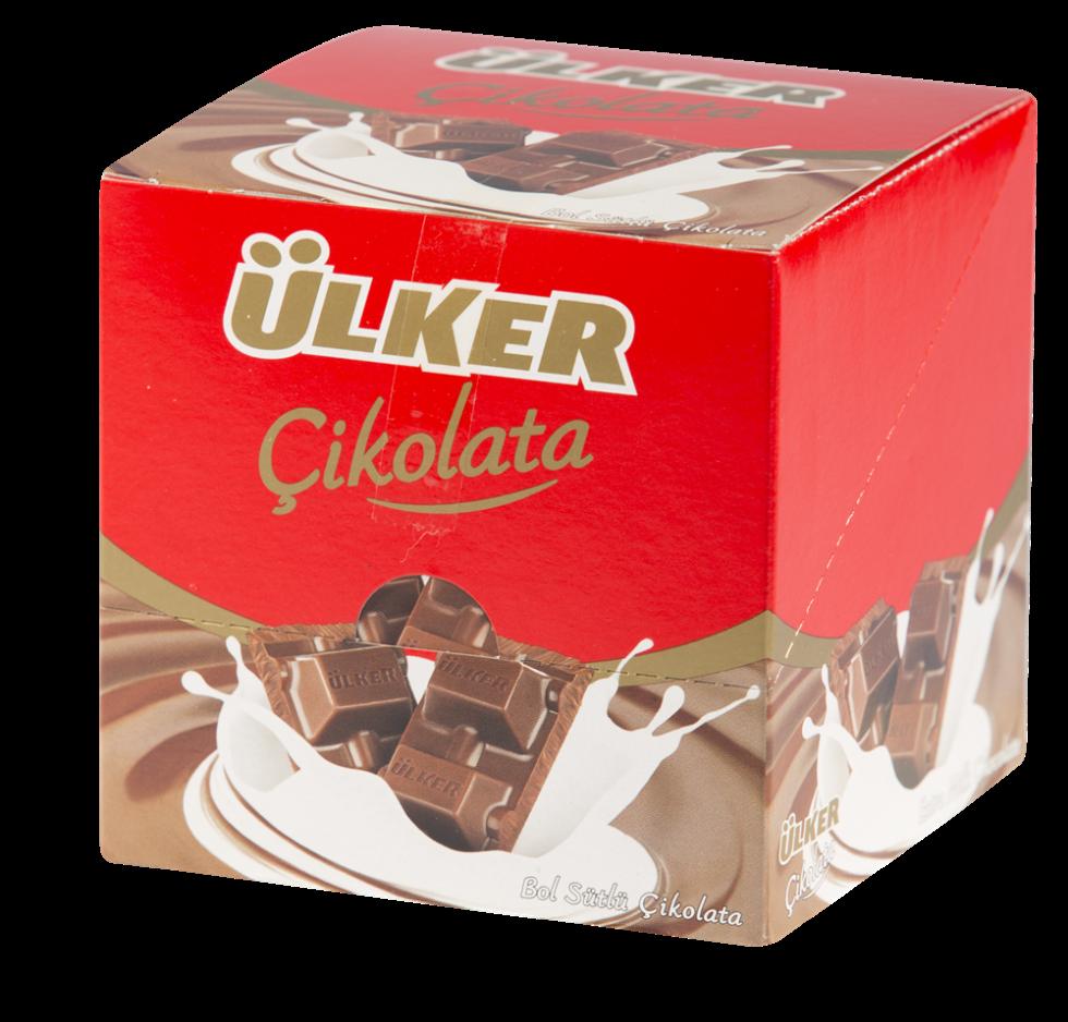 resm Ülker Çikolata Sütlü 6'lı 60 g