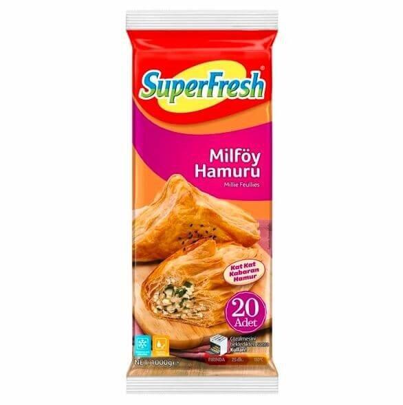 resm Superfresh Milföy 1 kg