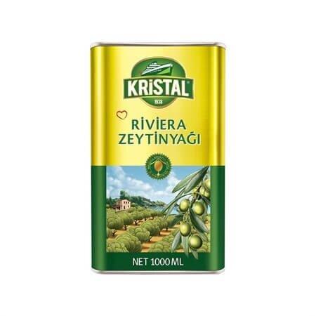 resm Kristal Teneke Riviera Zeytinyağı 1 l