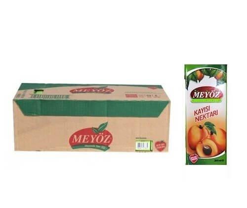 resm Meyöz Meyve Nektarı Kayısı Tetrapak 27'li 200 ml