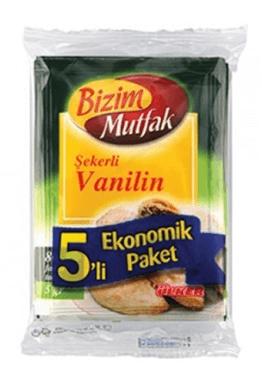 resm Bizim Şekerli Vanilin 25 g