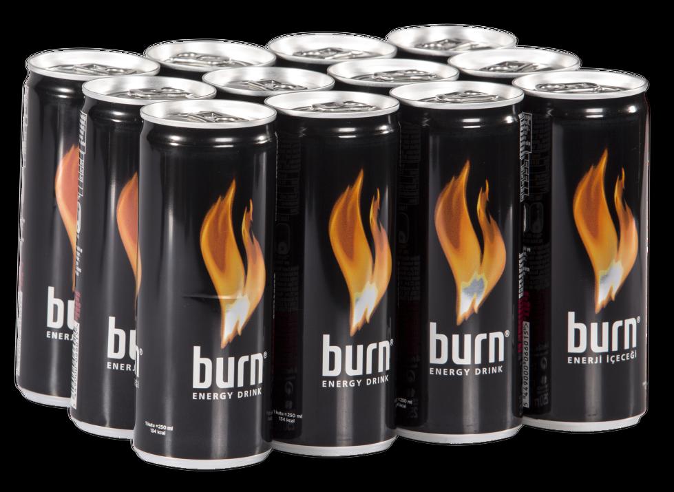 resm Burn Enerji İçeceği 12'li 250 ml