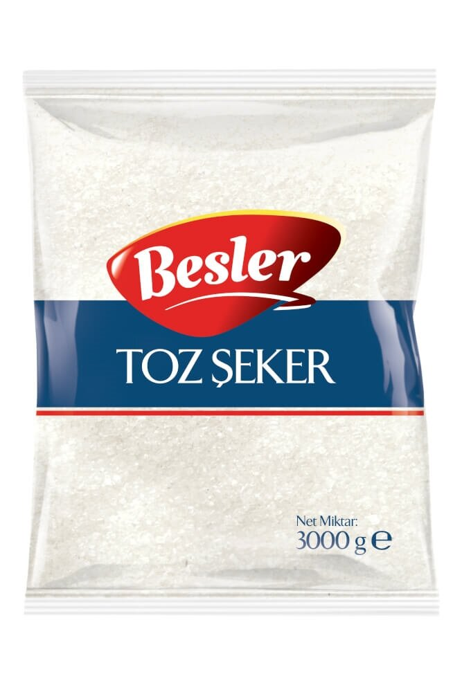 resm Besler Toz Şeker 3 kg