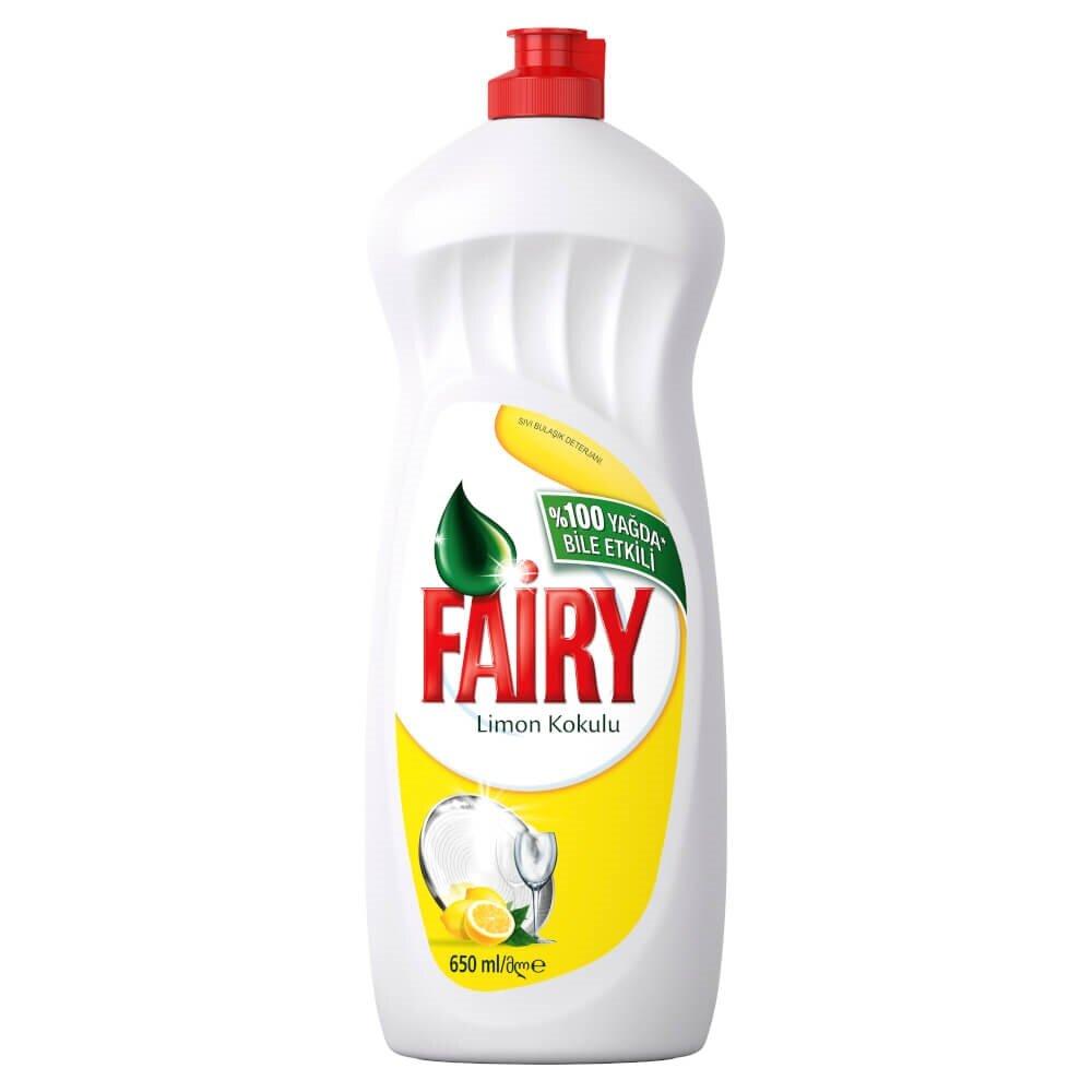 resm Fairy Bulaşik Deterjani Limon 650 ml