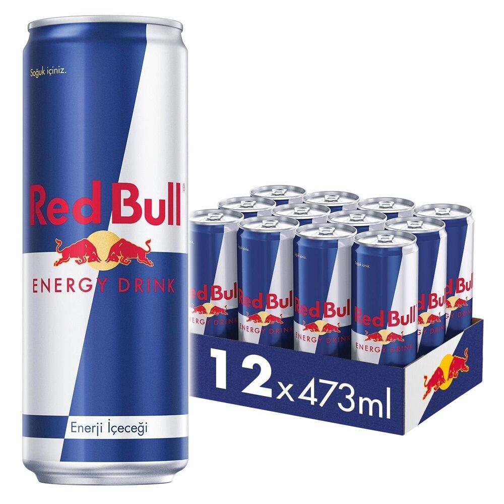 resm Red Bull Enerji İçeceği 12'li 473 ml