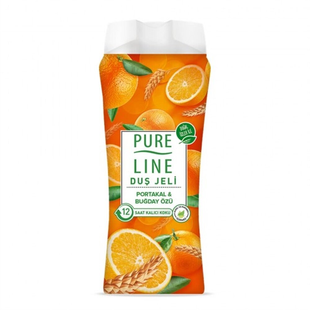 resm Pure Line Portakal Buğday Özlü Duş Jeli 400 ml