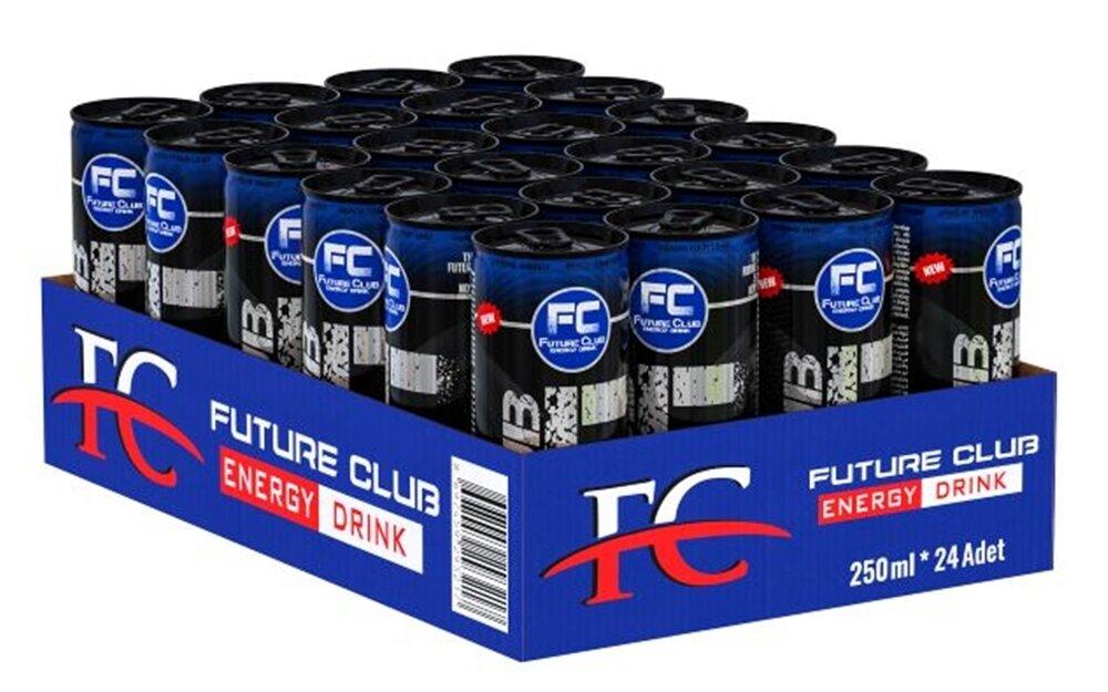 resm Fc Black Enerji İçeceği 24'lü 250 ml