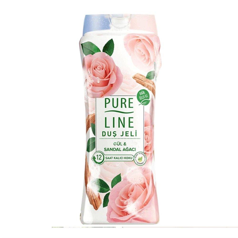 resm Pure Line Gül Sandal Ağacı Duş Jeli 400 ml