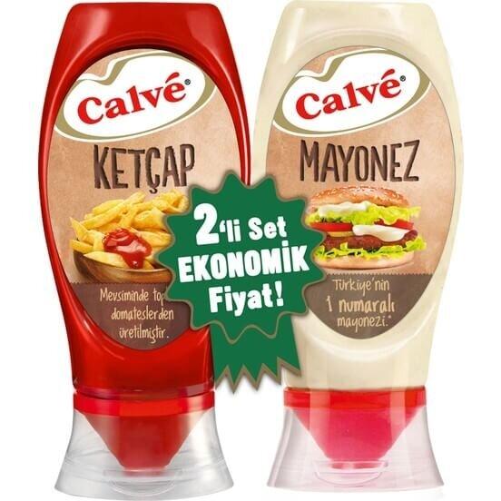 resm Calve Ketçap Mayonez 400+350 g