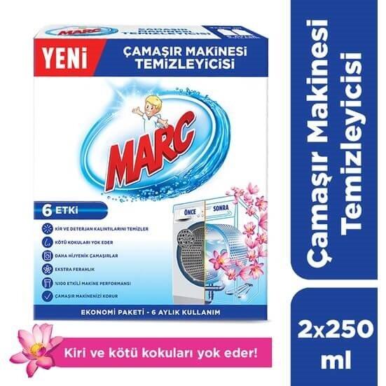 resm Marc Çamaşır Makine Temizleyici 2*250 ml
