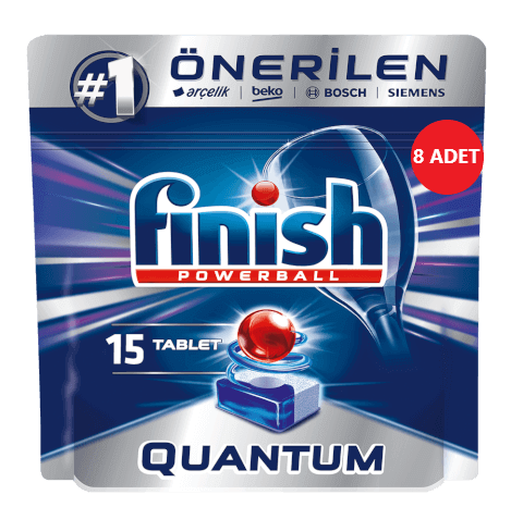 resm Finish Quantum Tablet 15'li