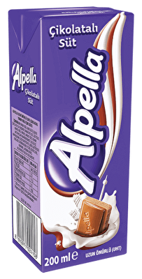 Resim Alpella Çikolatalı Süt 27'li 180 ml