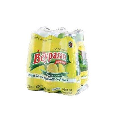 Resim Beypazarı Limon Aromalı Gazlı İçecek 6'lı 200 ml
