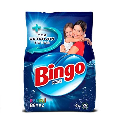Resim Bingo Matik Renkli&Beyaz 4 kg