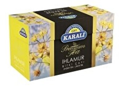 Resim Karali Premium Ihlamur Bitki Çayı 20'li