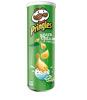 Resim Pringles Sour Cream & Onion Patates Cipsi 165 g