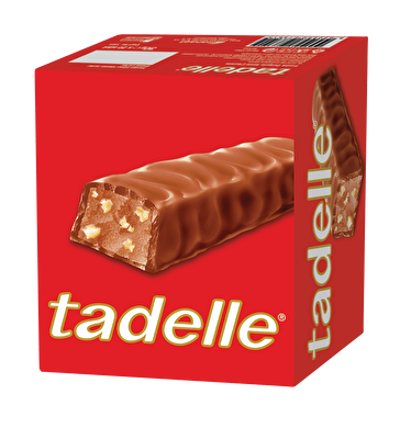 Resim Tadelle Sütlü Çikolata Fındık Dolgulu  20'li 30 g