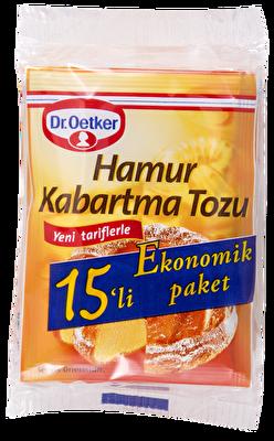 Resim Dr.Oetker Hamur Kabartma Tozu 15*10 g