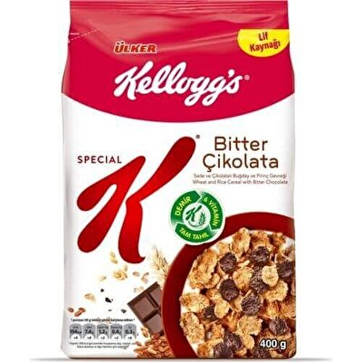 Resim Ülker Kelloggs Special K Çikolatalı Buğday Gevreği 400 g