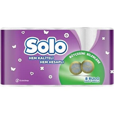 Resim Solo Havlu Kağıt 8'li