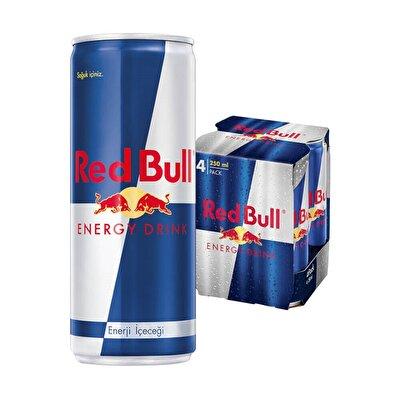 Resim Red Bull Enerji İçeceği M.P. 4*250 ml