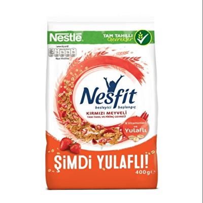Resim Nestle Nesfit Kırmızı Meyveli 400 g