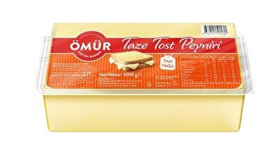 Resim Ömür Tam Yağlı Tost Peyniri 1 kg