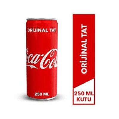 Resim Coca Cola Kutu 12*250 ml