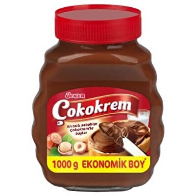 Resim Ülker Çokokrem Cam Kavanoz 1 kg