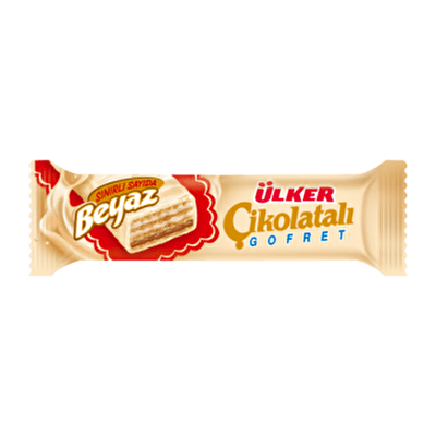 Resim Ülker Çikolatalı Gofret Beyaz 36'lı 36 g
