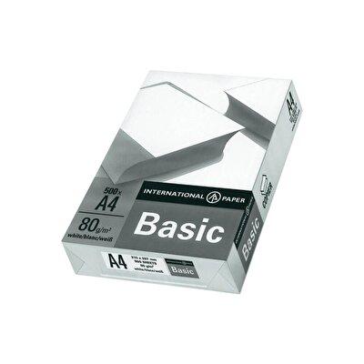 Resim Basic A4 Fotokopi Kağıdı 80 Gr 1 Koli Adet