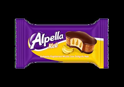 Resim Alpella Kakao Kaplı Muz Soslu Kek 24'lü 40 g